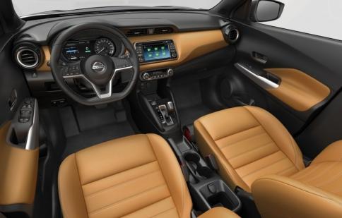 Nissan Kicks lộ ảnh chính thức về thiết kế nội, ngoại thất