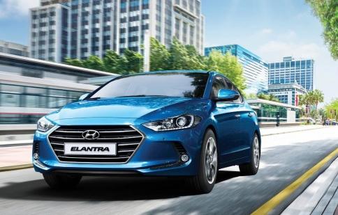 Hyundai Elantra 2017 hoàn toàn mới sắp ra mắt khách hàng Việt