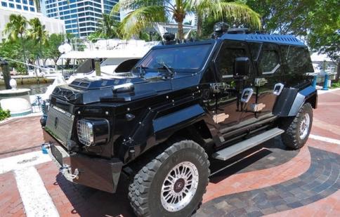 Ngắm SUV siêu chống đạn có giá hơn 560.000 USD
