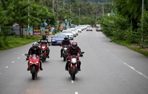 Ducati Việt Nam mang dàn xe mới nhất trưng bày tại Hà Nội