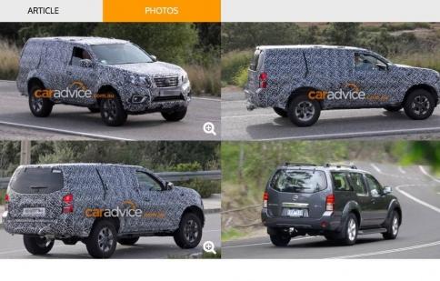 """Toyota Fortuner, Ford Everest sắp có """"đối thủ"""" mới từ Nissan"""
