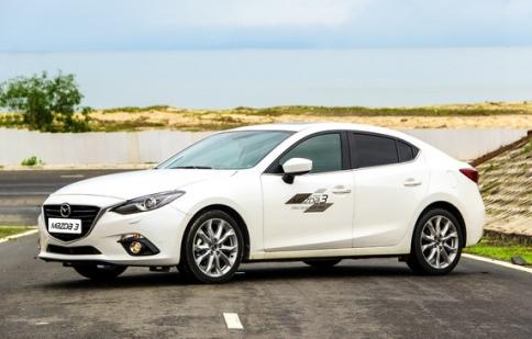 "10.100 chiếc Mazda3 triệu hồi sửa lỗi ""cá vàng"""