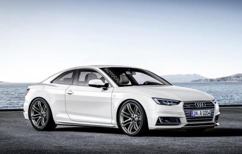 24 giờ trước khi ra mắt, Audi A5 Coupe 2017 đã lộ diện