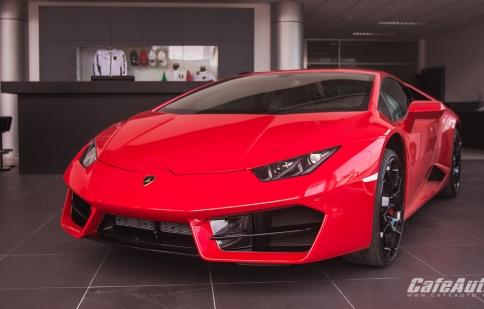 Lamborghini mang dịch vụ chính hãng vào Sài Gòn