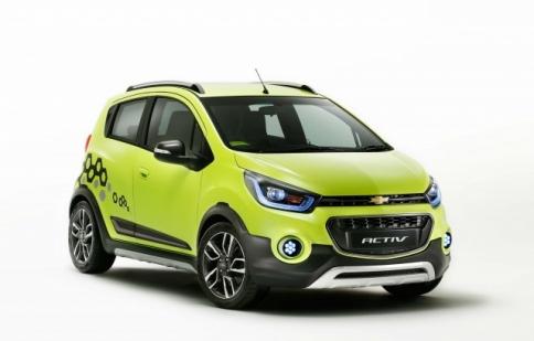 Chevrolet Spark Activ đối thủ mới của Hyundai i20 Active