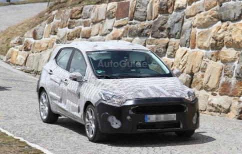 Ford Fiesta 2017 lần đầu xuất hiện trên đường thử