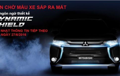 """Mitsubishi Outlander 2016 """"rục rịch"""" ra mắt khách hàng Việt"""