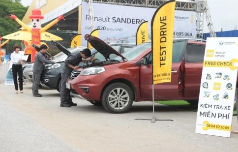 Renault tổ chức trưng bày, lái thử tại Thái Nguyên và Vũng Tàu