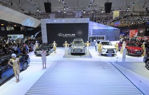 13 thương hiệu xe sẽ quy tụ tại Triển lãm Ô tô Việt Nam 2016