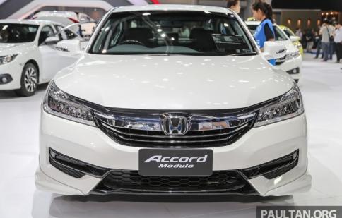 Honda Accord facelift ra mắt tại Malaysia