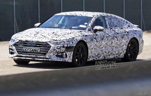 Thêm hình ảnh Audi A7 2018 chạy thử nghiệm