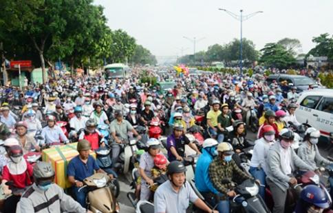 Xe máy chưa thể thoái trào ở Việt Nam