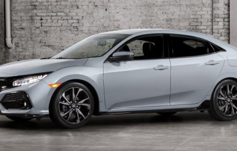 Honda công bố hình ảnh chính thức Civic Hatchback 2017