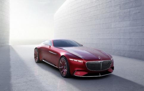 Ngắm Concept siêu sang Vision Mercedes-Maybach 6