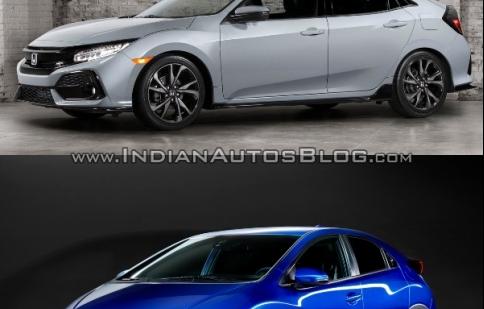 So sánh Honda Civic Hatchback mới và cũ qua ảnh