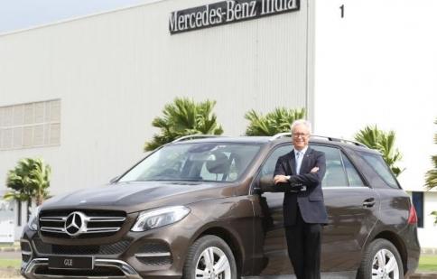 Mercedes GLE 400 4MATIC phiên bản xăng ra mắt tại Ấn Độ