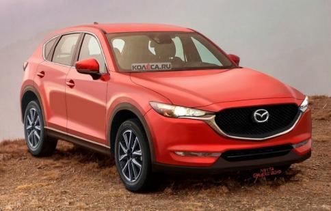 Xem trước Mazda CX-5 thế hệ mới qua ảnh phác thảo