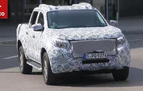 Bán tải hạng sang Mercedes-Benz GLT ra mắt vào năm sau