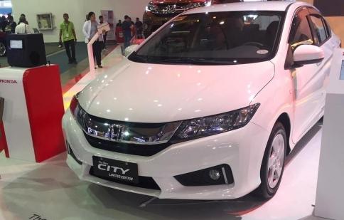 Honda City phiên bản đặc biệt ra mắt tại Philippines