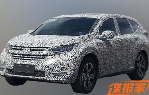 Honda CR-V 2017 sẽ có thêm cửa sổ trời, đèn LED, ống xả kép