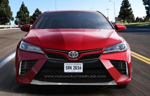 Lộ hình ảnh phác thảo Toyota Camry 2018