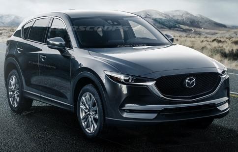 Mazda CX-5 2018 lộ hình phác thảo