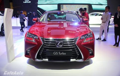 Soi chi tiết Lexus GS Turbo 2016 mới ra mắt