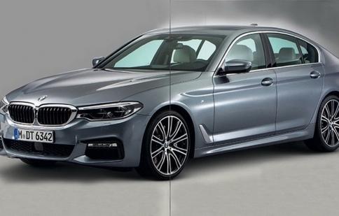 Công bố hình ảnh chính thức của BMW 5 Series 2017