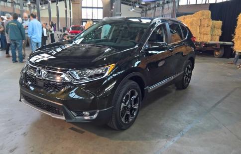 Honda CR-V 2017 chọn Mỹ là thị trường đầu tiên ra mắt
