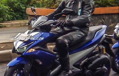 Mẫu xe thay thế Yamaha Nouvo chạy thử nghiệm tại Indonesia
