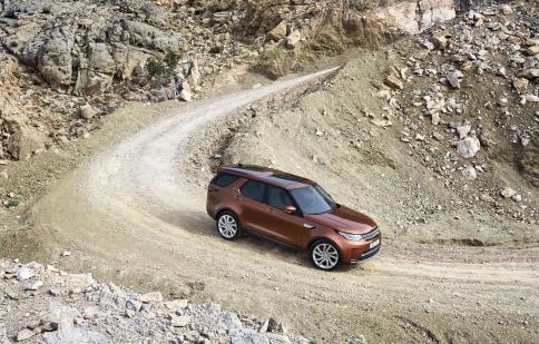 7 tính năng khiến người lái mê mẩn Land Rover Discovery 2017