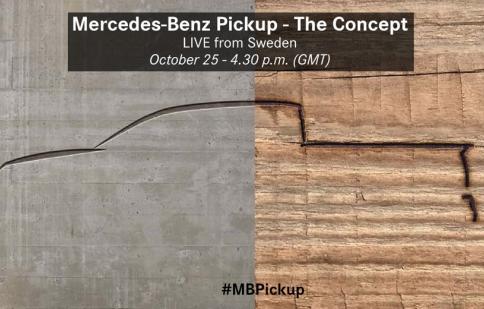 Mercedes-Benz Pickup xác nhận ngày ra mắt