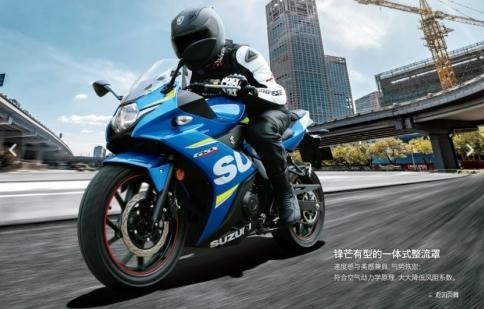 Suzuki GSX-R250 2017 ra mắt mạnh 25 mã lực, 23 Nm