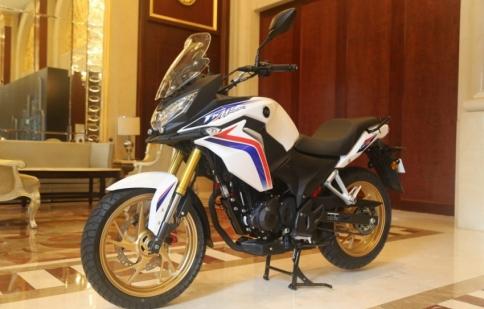 Honda CBF190X 2017 ra mắt tại Trung Quốc có thể về Việt Nam