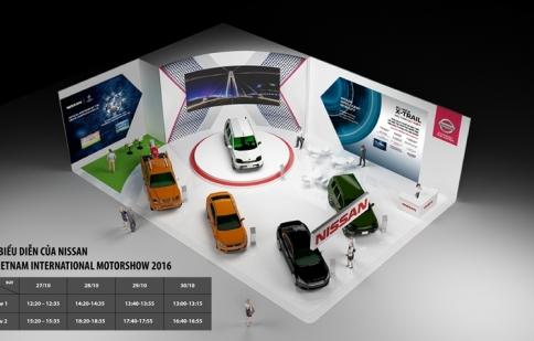 Nissan sẽ mang gì đến Vietnam International Motor Show 2016?
