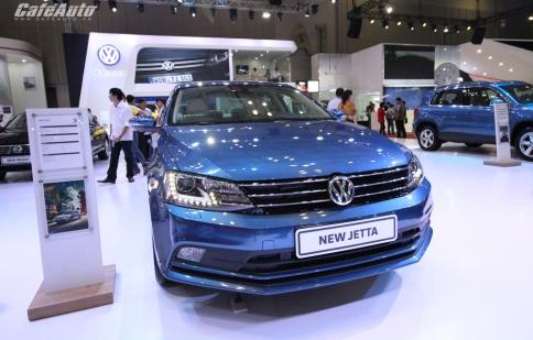 Volkswagen Jetta gia nhập phân khúc sedan hạng C, giá gần 1 tỷ đồng