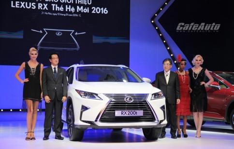 Triệu hồi Lexus RX tại Việt Nam do lỗi túi khí