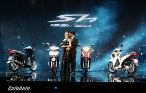 Honda SH 2017 ra mắt thị trường Việt Nam giá từ 67,9 triệu đồng