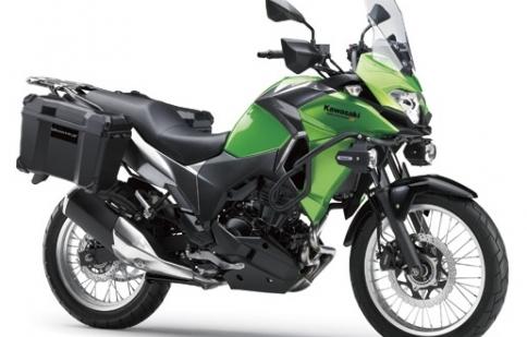Kawasaki Versys-X 250 2017 ra mắt