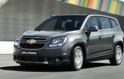 531 chiếc Chevrolet Orlando tại Việt Nam bị lỗi nút khởi động