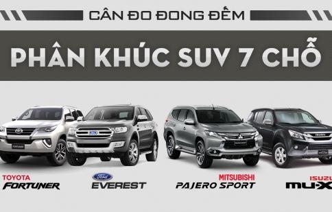 Cân đo phân khúc SUV 7 chỗ tại thị trường Việt Nam