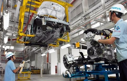 Từ 1/1/2017 sản xuất, lắp ráp, nhập khẩu ôtô là ngành kinh doanh có điều kiện