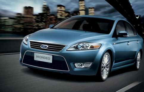Vòng tua máy Ford Mondeo tăng lên  cao
