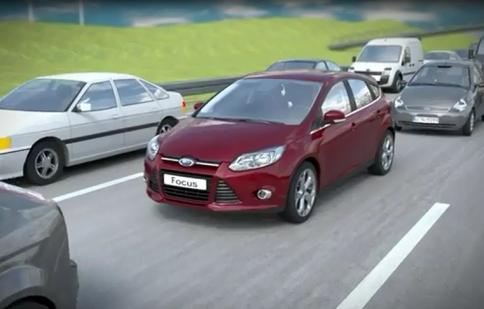 Ford nghiên cứu công nghệ hỗ trợ kẹt xe.