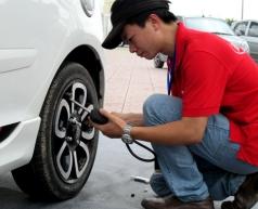 Tác hại khi sử dụng lốp xe không đúng áp suất
