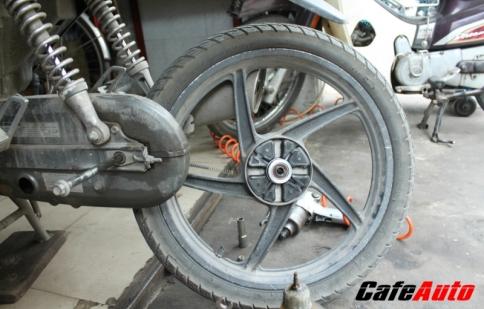 Bảo dưỡng trước Tết cho xe máy