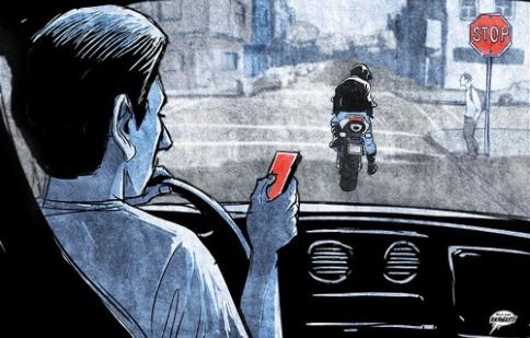 Làm thế nào để tránh ôtô điên tại ngã tư?