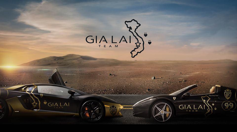 Goldrush Rally 2014 nóng với hàng loạt siêu xe mang bản đồ Việt Nam
