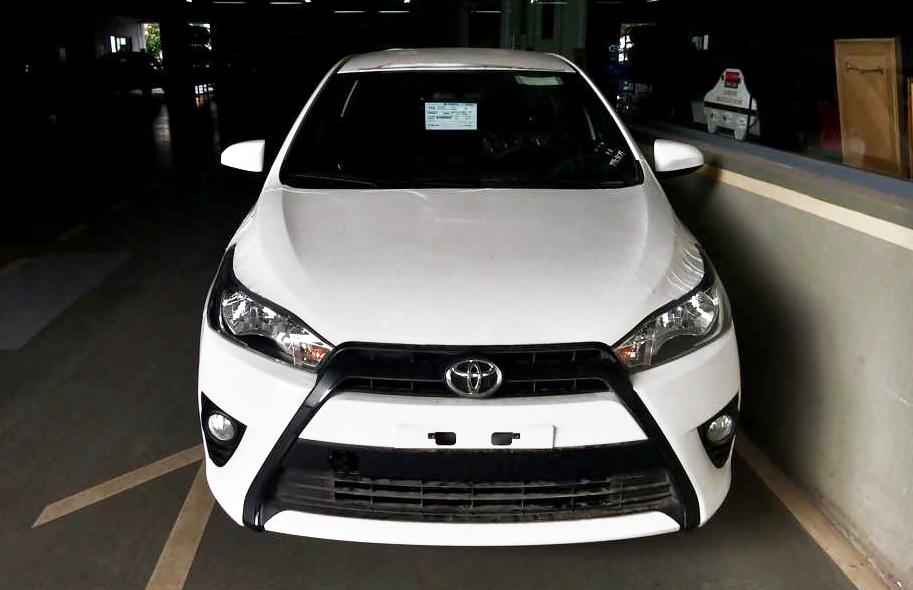 Toyota Yaris 2014 bất ngờ xuất hiện tại showroom