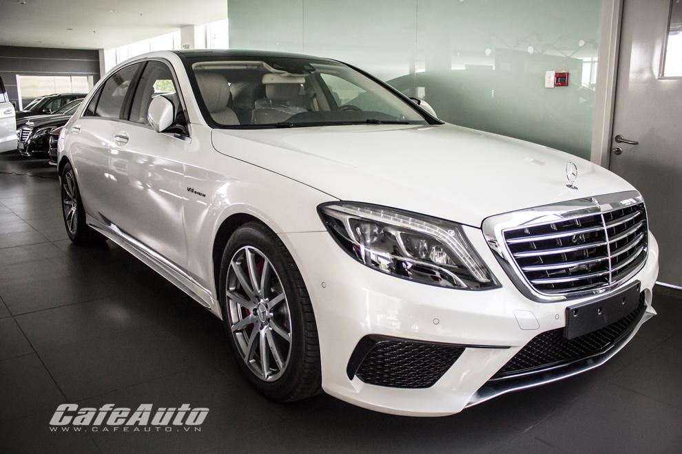 Mục sở thị Mercedes S63 AMG giá gần 9 tỷ tại Việt Nam